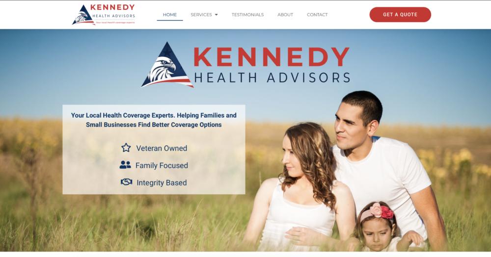 Kennedy Health Advisors homepage