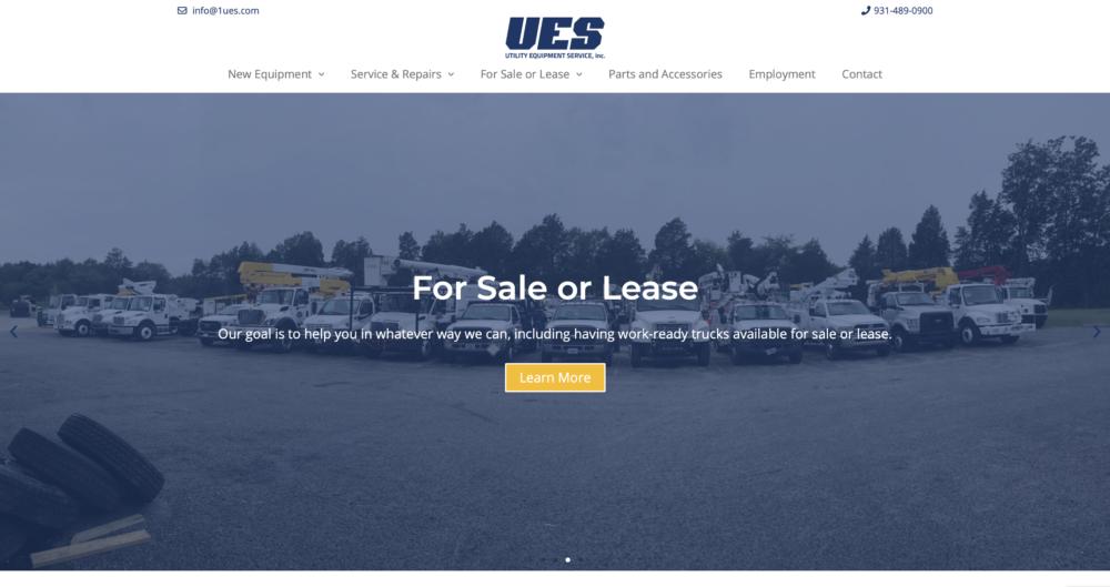 UES homepage