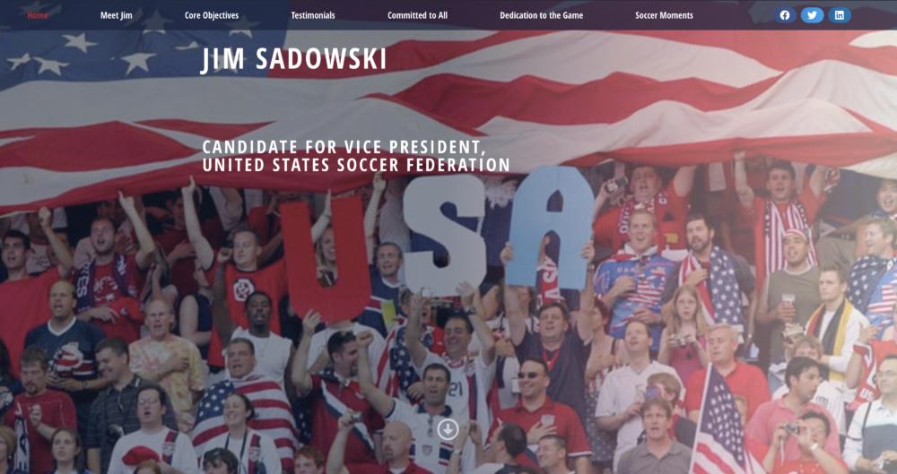 Jim Sadowski - United 4 Soccer Homepage