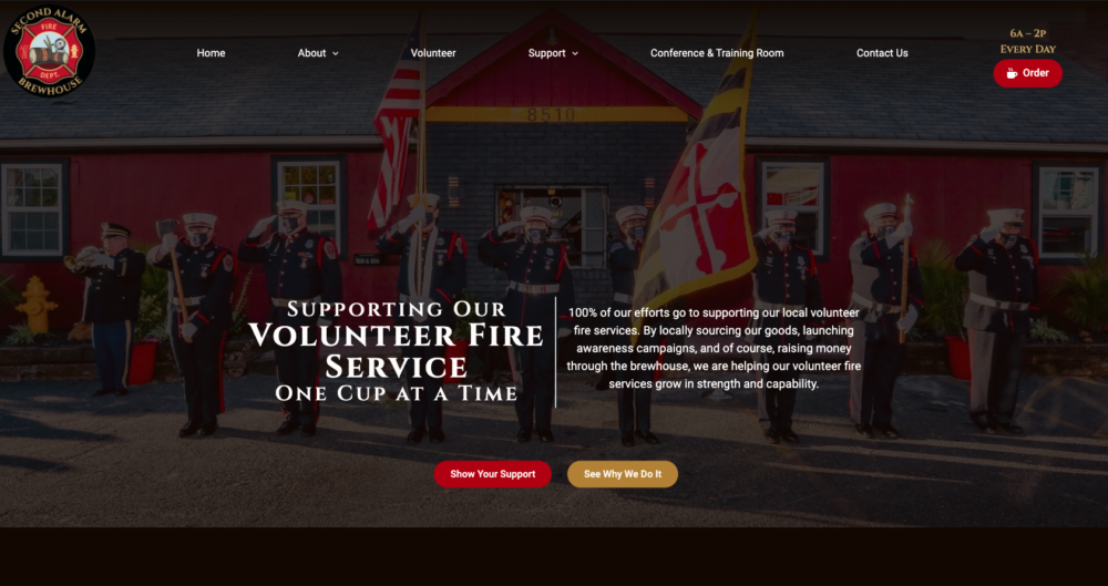 Second Alarm Brewhouse Homepage